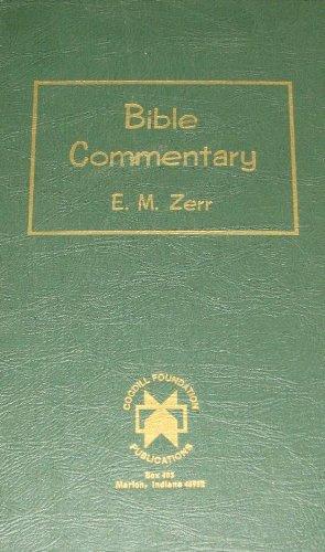 Bible Commentary: Volume Six (1 Corinthians to Revelation)