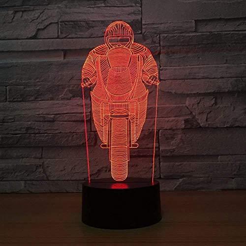 luz de noche led Luces 3D MocleLocal ore Reil Halloween, Acción de Gracias, Navidad Los mejores regalos Carga USB táctil de 7 colores