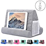 tablet pillow stand for iPad, phone pillow lap stand, tablet stand pillow holder, lap stand mobile phone holder, multi angle soft pillow pad (you will get pillow and keychian)