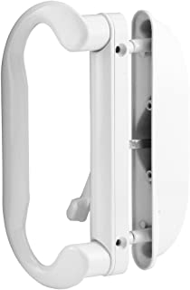 Prime-Line Products C 1277 Mortise-Style Reversible Patio Door Handle, Die-Cast, Painted, White