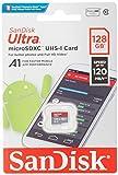 Sandisk SDSQUAR-128G-GN6MN Memoria Flash 128 GB MicroSDXC Clase 10 UHS-I - Tarjeta de Memoria (128GB, U1, C10, 128 GB, MicroSDXC, Clase 10, UHS-I, 100 MB/s, Class 1 (U1))