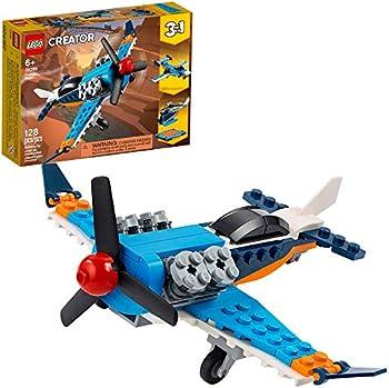LEGO Creator 3in1 Propeller Plane 31099 Building Kit (128 Pieces)