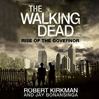 The Walking Dead: Rise of The Governor audiobook cover art