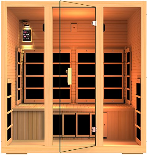 JNH Lifestyles MG417HB Joyous 4 Person Far Infrared Sauna