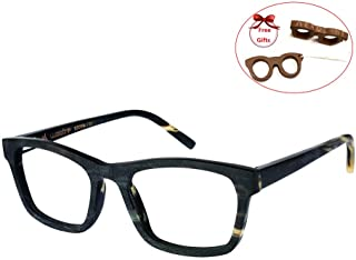 buffalo horn spectacle frames
