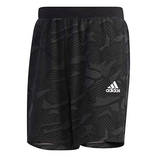 adidas M E AOP Shorts Pantalón Corto, Hombre, grpumg/Blanco, L/S