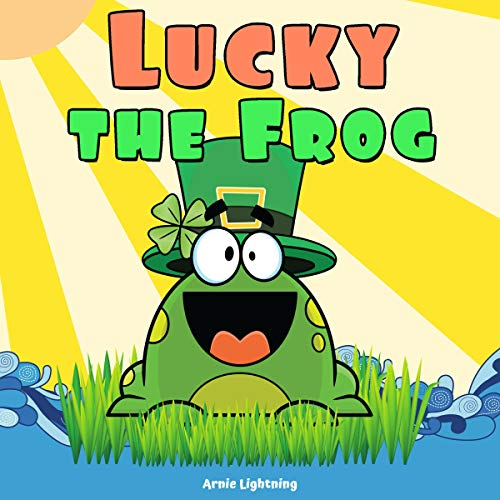 Lucky the Frog audiobook cover art