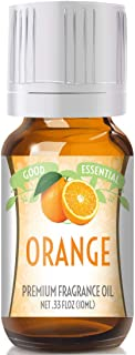 Orange Scented Oil by Good Essential (Premium Grade Fragrance Oil) - Perfect for Aromatherapy, Soaps, Candles, Slime, Lotions, and More!