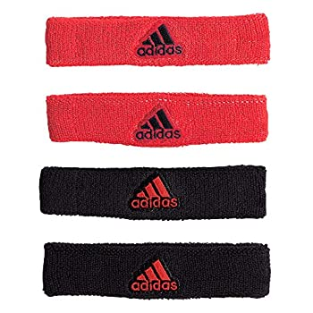 adidas Unisex Interval 3/4-inch Bicep Band Hi - Res Red/Black ONE SIZE