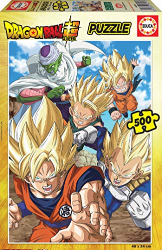 Educa Borras - Serie Dragon Ball Z, Puzzle 500 piezas Dragon Ball Super (18216)