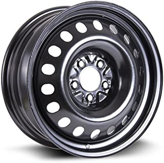 RTX, Steel Rim, New Aftermarket Wheel, 17X7, 5X114.3, 71.5, 40, Black Finish, X99715N