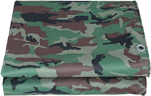 AJZGF en Plein air Imperméable en Tissu imperméable avec bache perforée Camouflage bache imperméable
