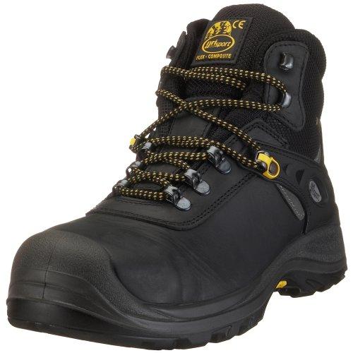 Grisport 74049CD8Y, Herren Arbeits & Sicherheitsschuhe S3, schwarz, (schwarz), EU 40
