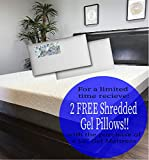 The American Mattress Company- 12in Gel Infused Memory Foam Mattress - 100% Made in USA - 20 Year Warranty - CertiPur Foam (Queen) - Chiropractic Endorsed
