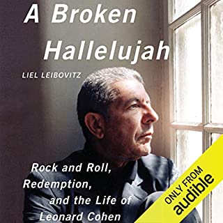 A Broken Hallelujah audiobook cover art