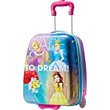 American Tourister Kids' Disney Hardside Upright Luggage, Princess 1, Carry-On 16-Inch (Apparel)
