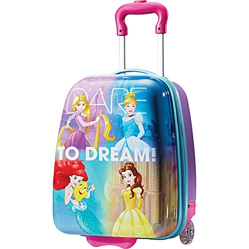American Tourister Kids' Disney Hardside Upright Luggage, Princess 1, Carry-On 18-Inch