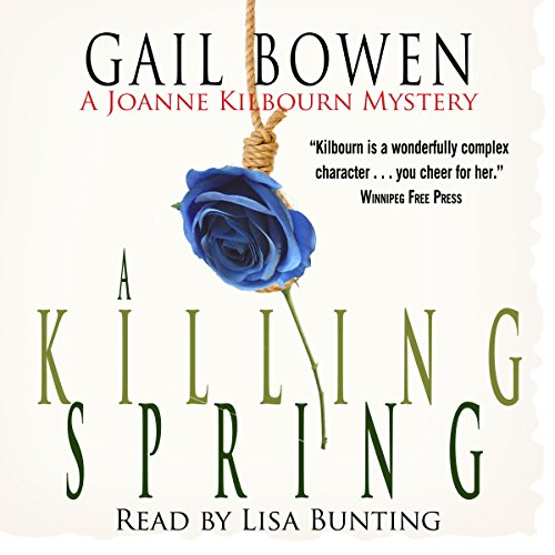 A Killing Spring audiobook cover art