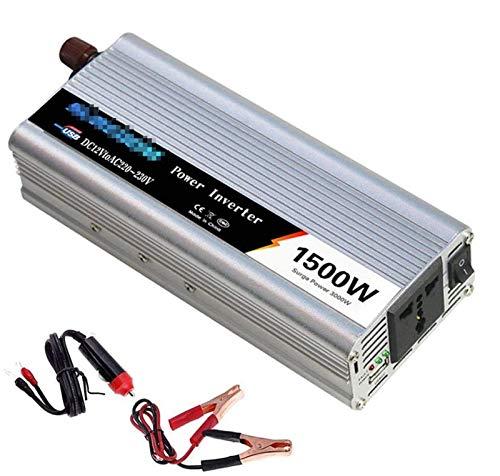 Inversor de onda sinusoidal pura automática 500W / 600W / 800W / 1000W / 1200W / 1500W / 2000W Convertidor de voltaje DC 12V / 24V a AC 110V / 220V / 230V / 240V Convertidor - convertidor convertidor