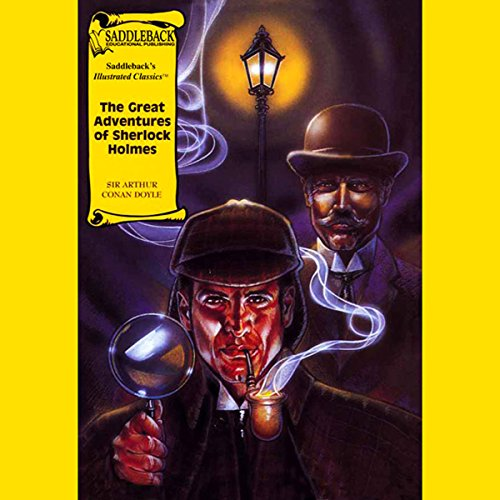 The Great Adventures of Sherlock Holmes audiobook cover art