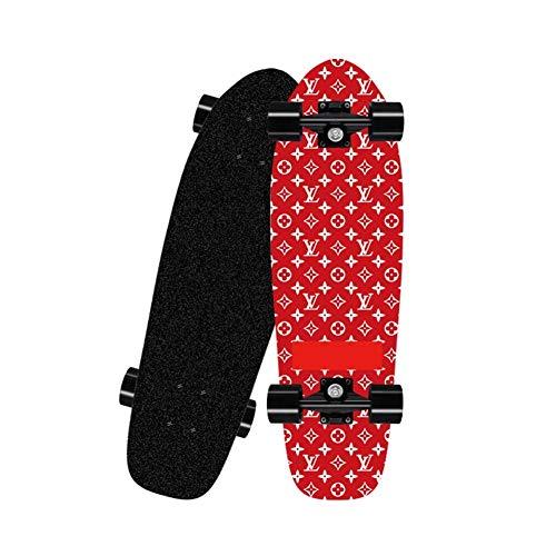 ZHNA Skateboard, Skateboard Deck Geeignet for Extremsport und Outdoor-Aktivitäten, Bearing 90kg