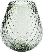 Linen House Bulb Green 19cm Vase