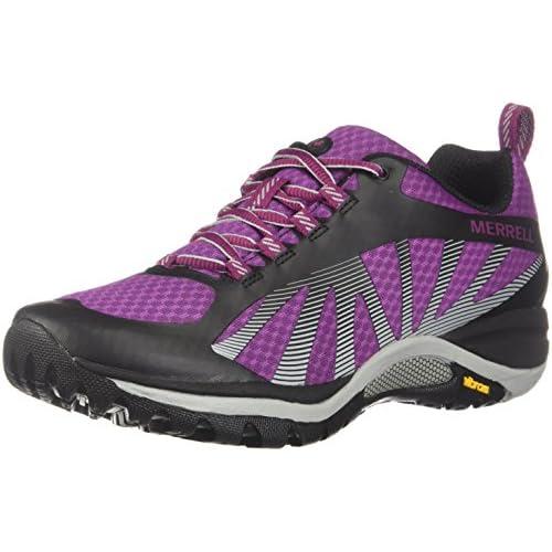 Merrell Women's Siren Edge Trail Runner, Amaranth, 6 B(M) US