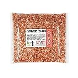 1KG   PINK HIMALAYAN ROCK SALT   FOOD GRADE - COARSE   ORGANIC   Pure Natural Unrefined Rose Food Salt for Table or Bath