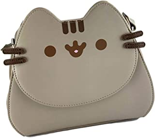 Pusheen Character Purse - Crossbody Handbag - Cute Gray Cat