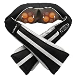 TruMedic InstaShiatsu+ Neck, Back, Shoulder Massager - 3 Massage Speeds, Cordless & Rechargeable, Shiatsu Neck Massager with Heat - Use at Home & Office for Full Body Shiatsu Relaxation (IS-3000PRO)
