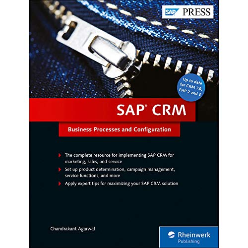 SAP Crm: Business Processes and Configuration