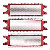 Almohadilla de fregona Reemplazo de las almohadillas de la fregona del piso de la microfibra de los 3 unids para Vileda Ultramax MOP RECAME PARA O Cedar MOP Fuerte absorción de agua ( Color : Red )