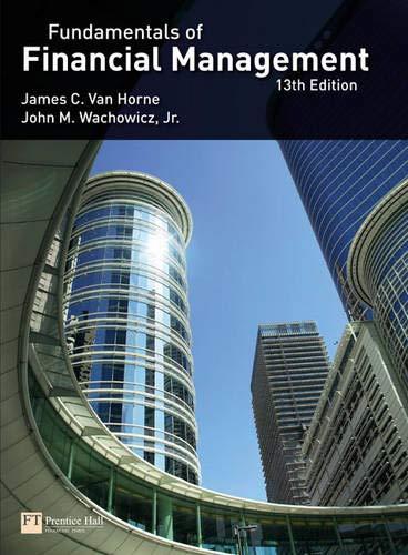 Van Horne: Fundamental_p13 (13th Edition)