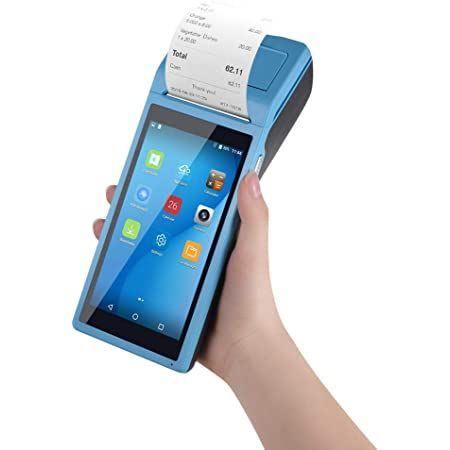 Sunmi V1s Android 6.0 POS Terminal Handled PDA 3G WiFi  Bluetooth Printer