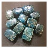 YSJJAXR Cristal Natural Rugoso Azul Natural apatito Cristal triturado Piedra Pulida Cuadrada Piedra Irregular Piedra Piedras,Hogar y Jardín,Piedras Baratas,Hogar y jardín, Piedras,