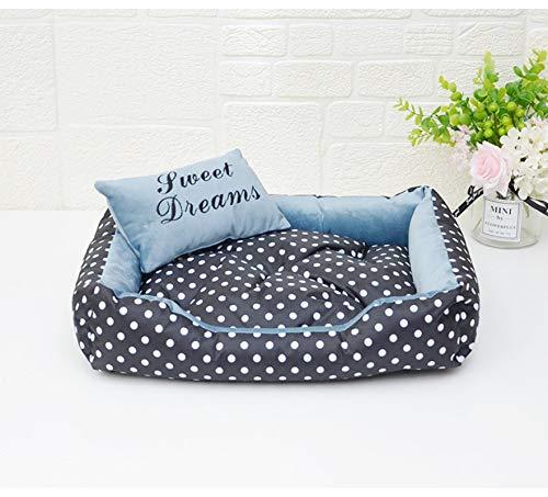 Hundebett Dog Dot Bed Four Season Verwenden Sie Bequeme Hundebetten Für Kleine Hunde. Hochwertiges Hundezubehör Für Hunde M 1