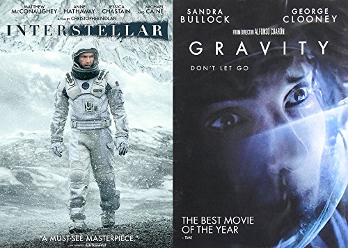 Alternate Space Collection - Alfonso Cuaron's Gravity & Christopher Nolan's Interstellar 2-Movie Bundle Double Feature