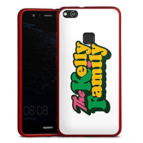 DeinDesign Huawei P10 lite Silikon Hülle Rot Case Schutzhülle The Kelly Family Logo Offizielles Lizenzprodukt