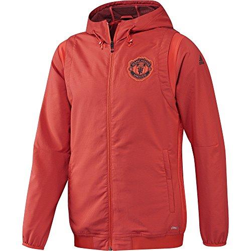 adidas Manchester United FC EU PRE JKT - Jacke für Herren, Farbe Rot, Größe 2XL