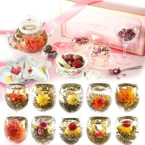 工芸茶10種 & 美の八宝茶 花花セット