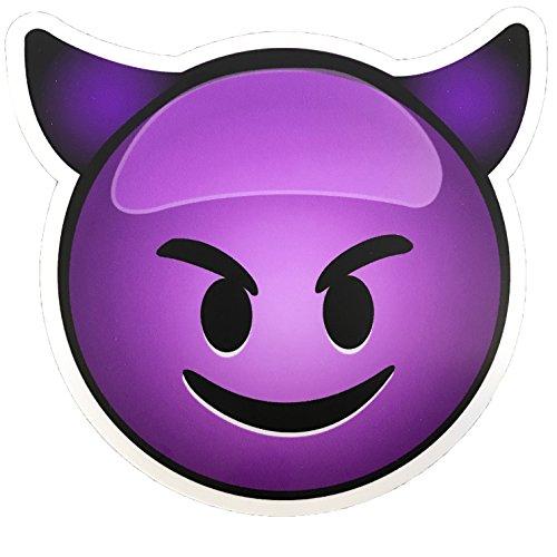 Best devil emoji car decal for 2021