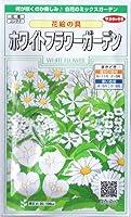 ホワイトフラワーガーデン・花絵の具