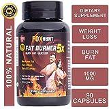 FOX HUNT Fat Burner 5X Capsules Supplement natural fast fat burner capsules