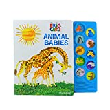 Best Books For Babies Animal Sounds - World of Eric Carle, Animal Babies 10-Button Sound Review