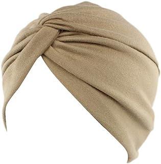 MoreChioce Cotton cap Donna,cappello donna elegante chemio Turbante chemioterapia Copricapo,Copricapo Indiano,Cappellino y...
