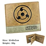 Swvv Cartera Naruto Wallet Multi-Functional Plush/PU Handbag Bag For Children. , C