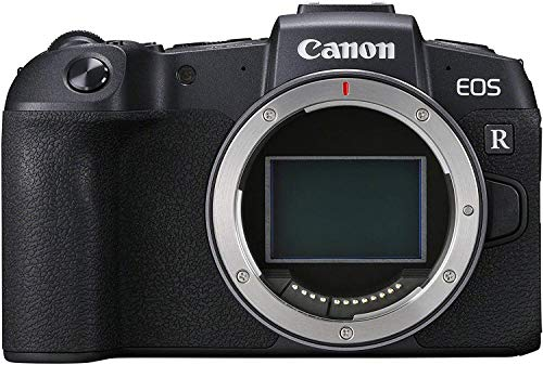 Canon EOS RP Systemkamera - mit Vollformat-Sensor + Adapter EF-EOS R (spiegellos, 26,2 MP, 7,5cm (3 Zoll) Clear View LCD II Display, Digic 8, 4K Video, WLAN, Bluetooth), schwarz