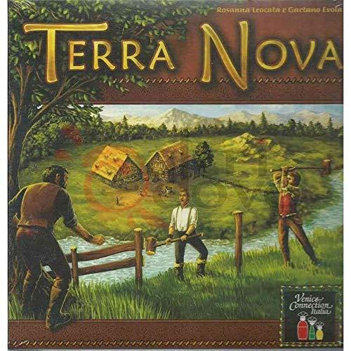 Cranio Creations- Terra Nova Juego de Mesa, Color Multicolore (Giallo prevalente) (CD205)