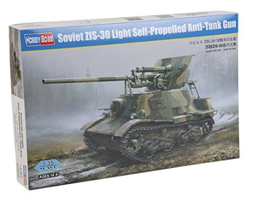 Hobby Boss 83849 – Modèle Kit Soviet Sid-30 Light Self Propelled Anti Tank Gun