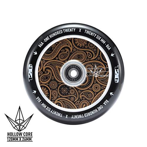 Blunt Hollowcore Wheel 110/120mm, Wheels Diameter:120mm, Farbe:Bandana Gold
